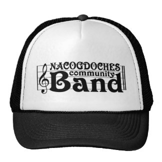 Nacogdoches Community Band baseball caps Cap