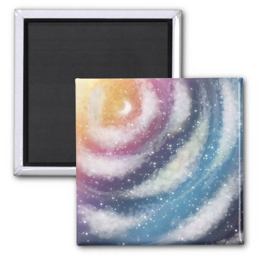 Nacreous Clouds Magnet Refrigerator Magnet