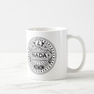 NADA CLASSIC TRIBAL DESIGN WHITE MUG