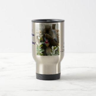 Nada-Monkey #74 Travel Mug