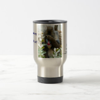 Nada-Monkey #80 Travel Mug
