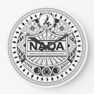 NADA TRIBAL STYLE WALL CLOCK