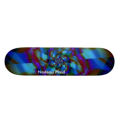 Nadeau Plaid Skate Decks