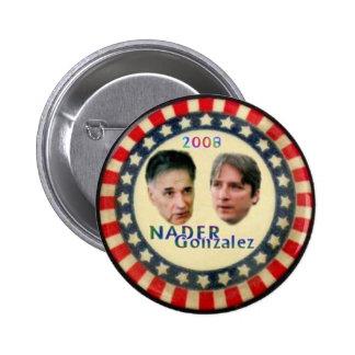 Nader/Gonzalez Button