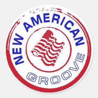 NAG Stamp Logo Sticker