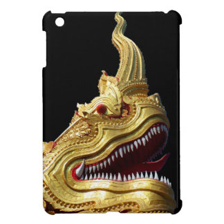 Naga Head on Black Cover For The iPad Mini