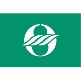 Nagahama, Shiga (Variant), Japan flag Photo Sculptures