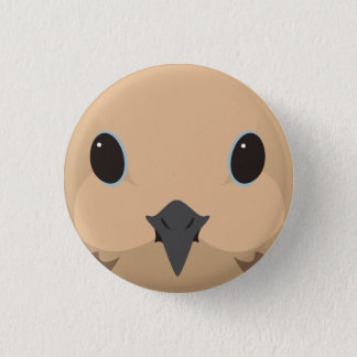 nagekibato - Mourning dove 3 Cm Round Badge