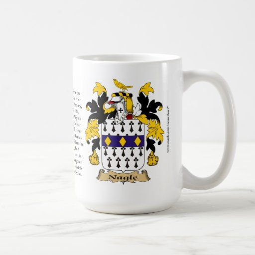 Nagle, the Origin, the Meaning and the Crest Mugs