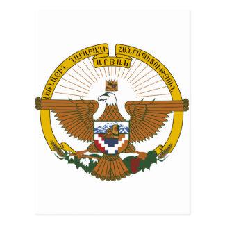 Nagorno-Karabakh Coat of Arms Postcard