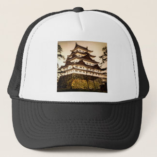 Nagoya Castle in Ancient Japan Vintage 名古屋城 Trucker Hat