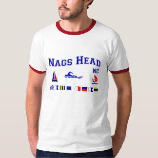 Nags Head NC Signal Flags Tee Shirt