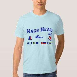Nags Head NC Signal Flags Tshirt