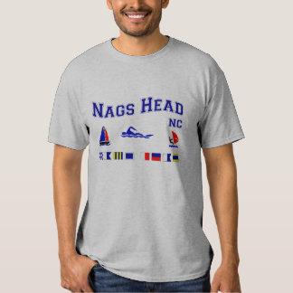 Nags Head NC Signal Flags Tshirts