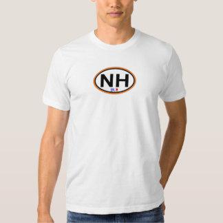 Nags Head Oval Design. Tshirt