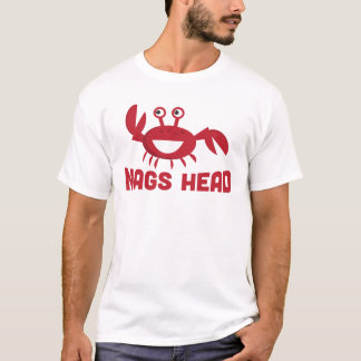 Nags Head T-shirt - Funny Red Crab