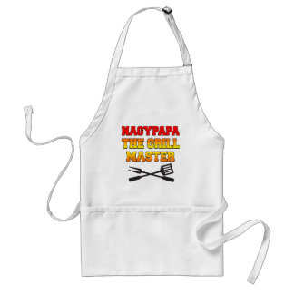 Nagypapa The Grill Master Hungarian Grandfather Standard Apron