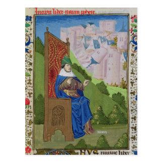 Nahum announcing the destruction of Nineveh Postcard
