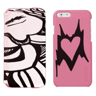 Naiad Abstract Heart Design Incipio Watson™ iPhone 6 Wallet Case