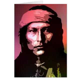 Naichez - Chiricahua Apache Card