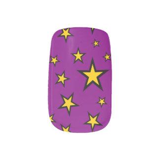 Nail Art Stylish Stars