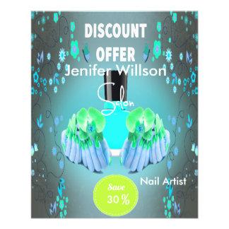 Nail Artist Salon 11.5 Cm X 14 Cm Flyer