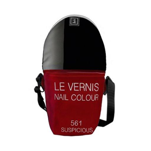 Nail color Rickshaw Messenger Bag