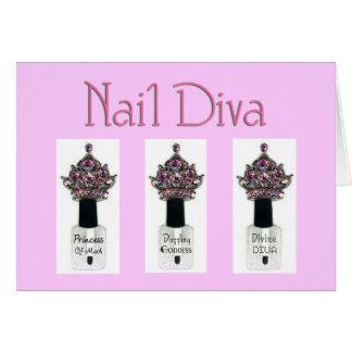 Nail Diva Card
