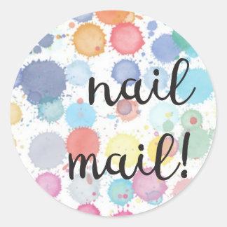 Nail Mail! Sticker