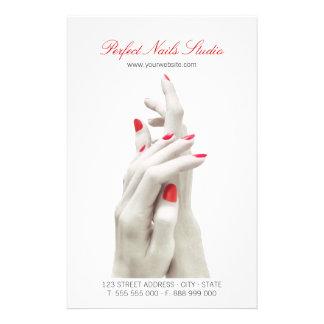 Nail Salon Beauty Center flyer
