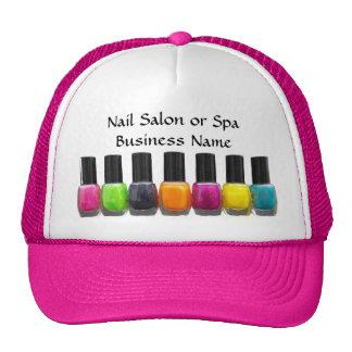 Nail Salon Business, Bright Polish Bottles Cap