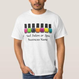 Nail Salon Business, Bright Polish Bottles T-shirts