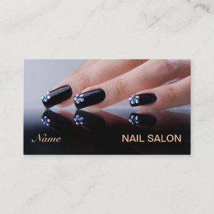 Pedicure business cards zazzle au nail salon business card reheart Choice Image