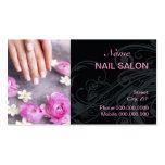 Nail Salon Business Card Business Card Template