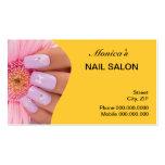 Nail Salon Business Card - choose your colour