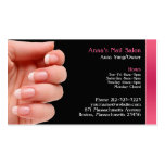 Nail Salon Business Card w/Appointment