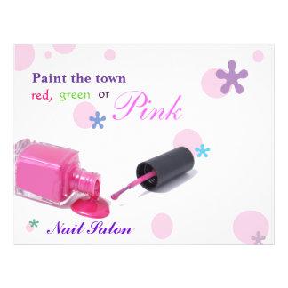 Nail Salon Flyer