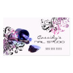 Nail Technician Beauty Salon Business Cards
