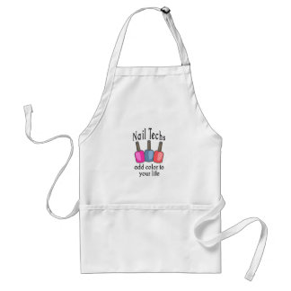 NAIL TECHS ADD COLOR STANDARD APRON