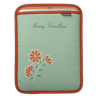 Naila Floral Batik iPad Mac Book Air Sleeve Sleeves For iPads