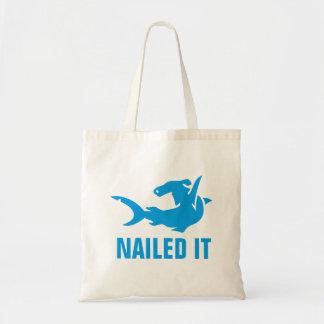 Nailed It Hammerhead Tote Bag