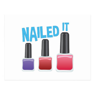 Nailed It Postcard