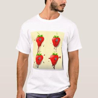 Nailed Strawberries Mens T-Shirt