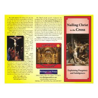 Nailing Christ to the Cross - Teaching Indulgences 21.5 Cm X 28 Cm Flyer