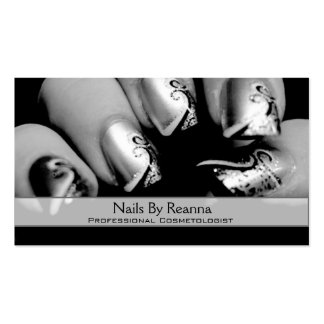 Nails By Reann V2 Business Card Template