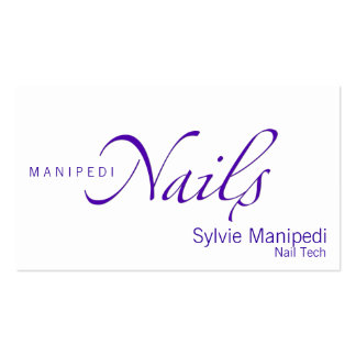 Nails Pack Of Standard Business Cards