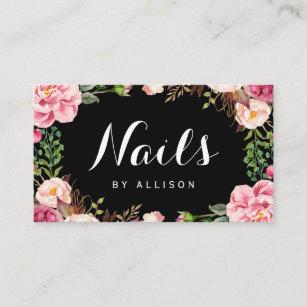 Nail Technician Business Cards Zazzle Au