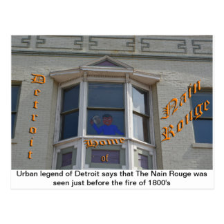Nain Rouge in Detroit Postcard