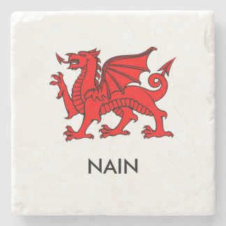 Nain - South Welsh Grandma Coaster Stone Coaster