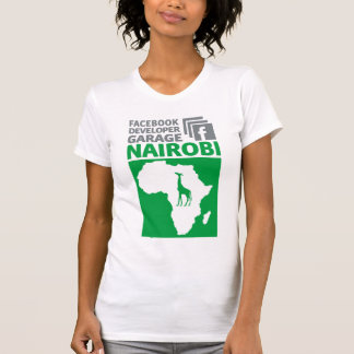 Nairobi Facebook Developer Garage T-shirt
